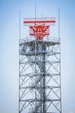 Torretta del radar Fotografie Stock Libere da Diritti