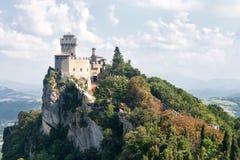 Torretta del San Marino secondo: il Cesta o il Fratta Fotografie Stock Libere da Diritti