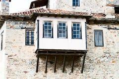 Torretta del servo della sentinella, balcone Fotografia Stock