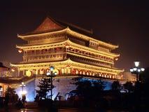 Torretta del tamburo di Xi'an Fotografia Stock Libera da Diritti
