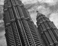 Torretta del Tween di Petronas Immagini Stock Libere da Diritti