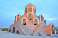 Torretta del vento - Camera di Borujerdi, Kashan, Iran Immagini Stock
