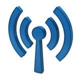 Torretta del Wi-Fi Fotografie Stock