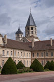 Torretta dell'abbazia cluny Fotografia Stock Libera da Diritti