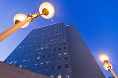 Torretta dell'edificio per uffici di affari Fotografia Stock Libera da Diritti