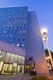 Torretta dell'edificio per uffici di affari Fotografie Stock
