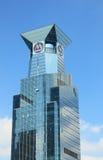 Torretta della Banca di commercianti della Cina Fotografia Stock