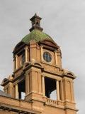 torretta della casa di corte Fotografie Stock