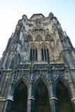 Torretta della cattedrale della st Stephen a Vienna Fotografie Stock