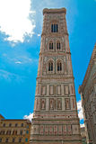Torretta della cattedrale di Firenze Immagine Stock Libera da Diritti