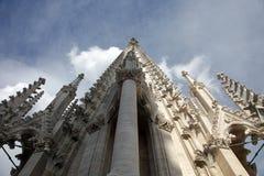 Torretta della cattedrale di Zagabria fotografia stock libera da diritti