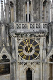 Torretta della cattedrale di Zagabria fotografie stock