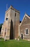 Torretta della chiesa di Mary santa, Selbourne, Hamp Immagine Stock