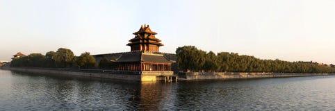 Torretta della città severa Pechino della Cina Immagine Stock Libera da Diritti