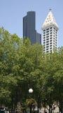 Torretta della Colombia & torretta Seattle dello Smith Immagini Stock