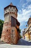 Torretta della difesa a Sibiu immagine stock