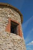 torretta della fortezza dell'oggetto d'antiquariato Fotografia Stock Libera da Diritti