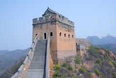 Torretta della Grande Muraglia fotografia stock