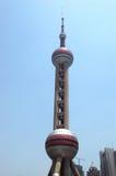 Torretta della perla di Oriente a Schang-Hai Immagine Stock Libera da Diritti