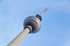 Torretta della televisione, Berlino Fotografia Stock