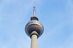 Torretta della televisione, Berlino Fotografia Stock Libera da Diritti