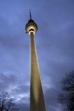 Torretta della televisione a Berlino, Germania Fotografia Stock Libera da Diritti
