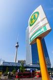 Torretta della televisione a Berlino, Germania Immagine Stock