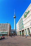 Torretta della televisione a Berlino, Germania Fotografie Stock