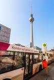 Torretta della televisione a Berlino, Germania Fotografie Stock Libere da Diritti