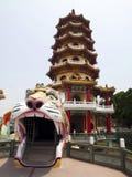 Torretta della tigre in Taiwan Fotografia Stock
