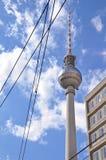 Torretta della TV, Berlino Fotografia Stock