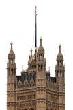 Torretta della Victoria del palazzo di Westminster a Londra Fotografia Stock Libera da Diritti