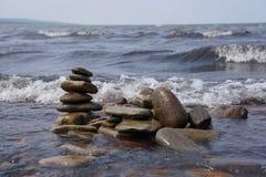 Torretta delle pietre Fotografia Stock