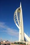 Torretta dello Spinnaker di millennio a Portsmouth Immagine Stock Libera da Diritti