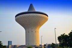 Torretta di acqua a Jeddah Immagini Stock