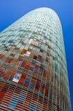 Torretta di Agbar, Barcellona Fotografie Stock Libere da Diritti
