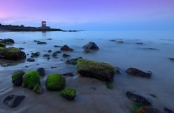Torretta di Archirondel, Jersey C.I Fotografia Stock