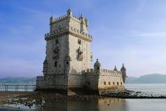 Torretta di Belém fotografie stock
