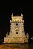 Torretta di Belem a Lisbona fotografie stock