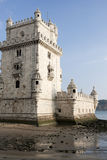 Torretta di Belem a Lisbona Portogallo Fotografia Stock Libera da Diritti