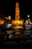 Torretta di Belfort a Bruges, Belgio Fotografie Stock Libere da Diritti