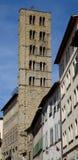 Torretta di Bell del della Pieve della Santa Maria Fotografie Stock