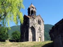 Torretta di Bell del monastero di Haghpat Fotografia Stock
