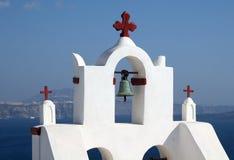 Torretta di Bell della chiesa Fotografia Stock Libera da Diritti