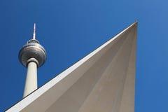 Torretta di Berlino TV Fotografie Stock