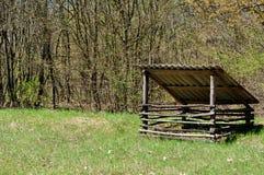 Torretta di caccia Fotografia Stock