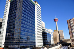 Torretta di Calgary Fotografie Stock