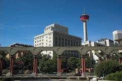 Torretta di Calgary Fotografia Stock Libera da Diritti