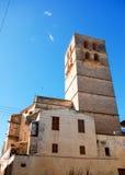 Torretta di chiesa di Felanitx Immagine Stock Libera da Diritti