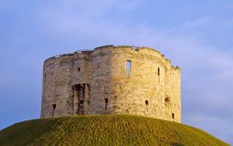 Torretta di Cliffords, York Fotografie Stock